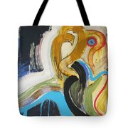 Hard To Escape Tote Bag
