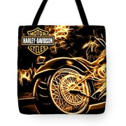 Harley-davidson Tote Bag by Aaron Berg
