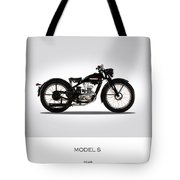 Harley Davidson Model S Tote Bag
