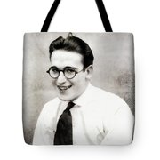 Harold Lloyd, Legend Of The Silver Screen Tote Bag