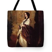 Harriet Howard Duchess Of Sutherland Franz Xavier Winterhalter Tote Bag