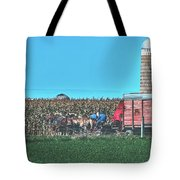 Harvest In Amish Country - Elkhart County, Indiana Tote Bag