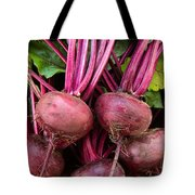 Harvested Organic Beets Tote Bag