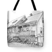 Harvey Lake House Tote Bag