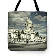 Havana National Capitol Tote Bag