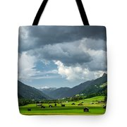 Hay Barns In Oberinntal, Pettneu Am Arlberg Tote Bag