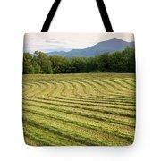 Hayfield Landscape Tote Bag