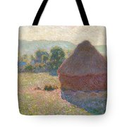 Haystacks, Midday Tote Bag