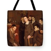 He Cast A Look And Went Mad Tote Bag