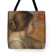 Head Of A Young Girl Tote Bag