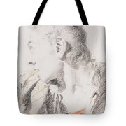 Head Of A Youth Turned To The Left Tote Bag