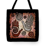 Healing Hands Fresco Tote Bag