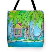 Heart Cottage Tote Bag