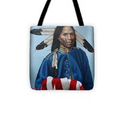 Heart Of Courage Tote Bag