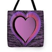 Heart Shape Tote Bag