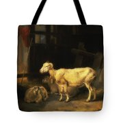 Heath Ewe And Lambs Tote Bag