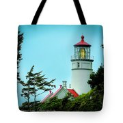 Heceta Lighthouse Tote Bag