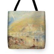 Heidelberg With A Rainbow Tote Bag