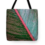 Heliconia Leaf Tote Bag