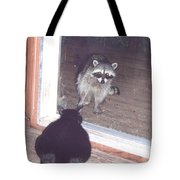 Hello There Tote Bag by Cynthia Marcopulos
