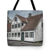 Helsingor Old Building Tote Bag