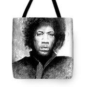 Hendrix Portrait Tote Bag