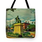 Henry Wadsworth Longfellow Monument - Portland, Maine Tote Bag