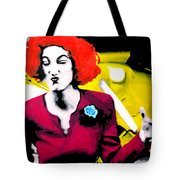 Her Name Is Lil . . Tote Bag by Luis Ludzska