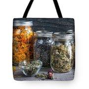 Herbs In Jars Tote Bag