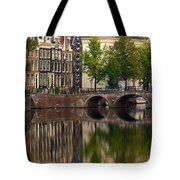 Herengracht Canal. Amsterdam. Netherlands. Europe Tote Bag