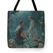Hermia And Lysander Tote Bag