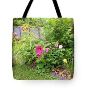 Hibiscus In The Garden Tote Bag