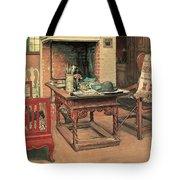 Hide And Seek Tote Bag by Carl Larsson