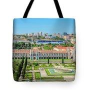 Hieronymites Monastery Aerial Tote Bag