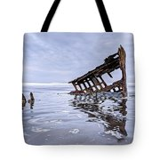 The Peter Iredale Wreck, Cannon Beach, Oregon Tote Bag
