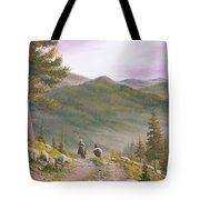 High Country Trails Tote Bag