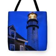 Highland Lighthouse Tote Bag by John Greim