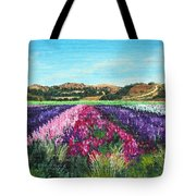 Highway 246 Flowers 3 Tote Bag