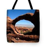 Hiking Through Arches Tote Bag