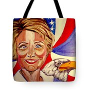 Hillary Clinton Tote Bag