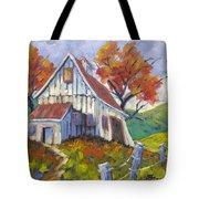 Hillsidebarn Tote Bag