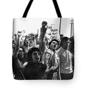 Hispanic Anti-viet Nam War Rally Tucson Arizona 1971 Tote Bag