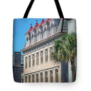 Historic Charleston South Carolina Downtown And Architetural Det Tote Bag