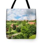 Historic Town Of Rothenburg Ob Der Tauber  Tote Bag