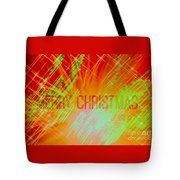 Holiday Burst Tote Bag