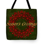 Holiday Card Tote Bag