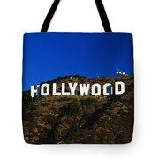 Hollywood Sign Los Angeles Ca Tote Bag