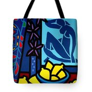 Homage To Matisse I Tote Bag