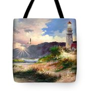 Home For The Night 3 Tote Bag