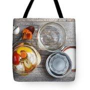 Homemade Preserved Vegetables Tote Bag